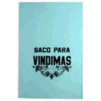 Saco Vindima Azul 100 x 60 x 0.08 mm