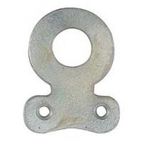 Chapa Cabides Ferro Polido - 371