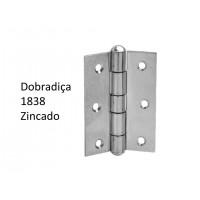 """Dobradiça 1838 x 1 1/2"""" ZNC"""