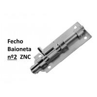 """Fecho 2 x 2"""" Baioneta"""