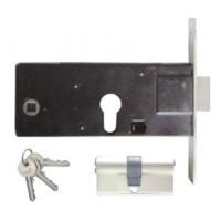 Fechadura Porta Aluminio 0350 + Canhão