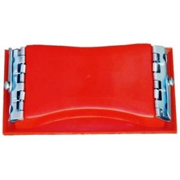 Bloco Vermelho para Lixa - 163 x 86 mm