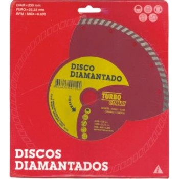 Disco Diamantado COMBI 230 mm - Turbo