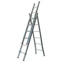 Escada 1.50 mts Aluminio Tripla