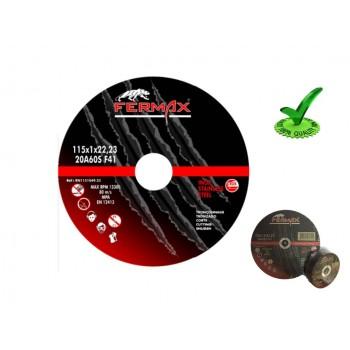 Disco Corte Inox 115 x 1.0mm