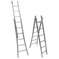 Escada 1.50 mts Aluminio Dupla