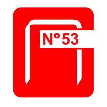 Agrafes - 6 mm nº53  (5000)