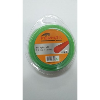 Fio Nylon Redondo MR 2.4 mm x 15 Mts