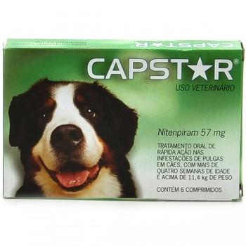Capstar Cj. 6 Comprimido  <11Kg