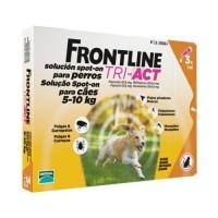 Frontline TRI ACT -  Cj. 3 Pipeta p/Cão 5 - 10 kg