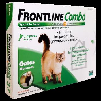 Frontline - Cj. 3 Pipeta p/Gato