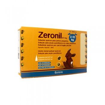 ZERONIL - Pipeta Cão 2-10 kg (Cx30)