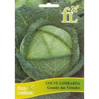 Couve Lombarda Grande das Virtudes - 10 gr