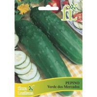 Pepino Verde dos Mercados - 10 gr