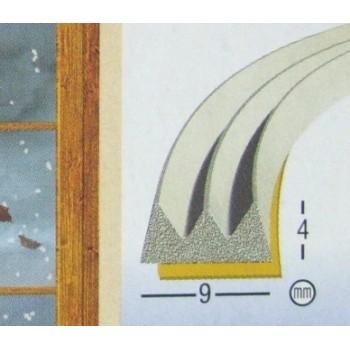 Fita Calafetar - Borracha 9 mm x 6 Mts (E) Branco