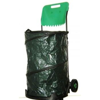 Carrinho Porta Sacos Lixo