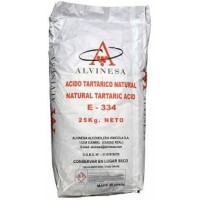 Ácido Tartárico - 25 Kg